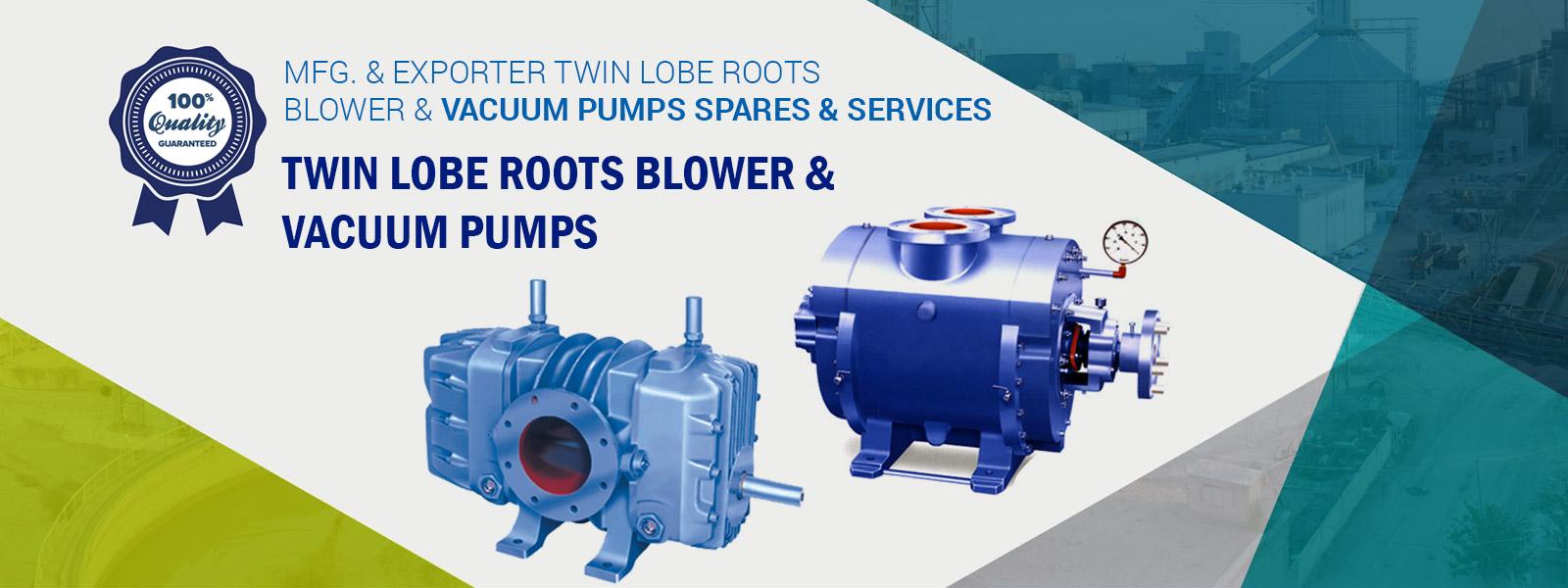 Twin Lobe Roots Blower Exporter